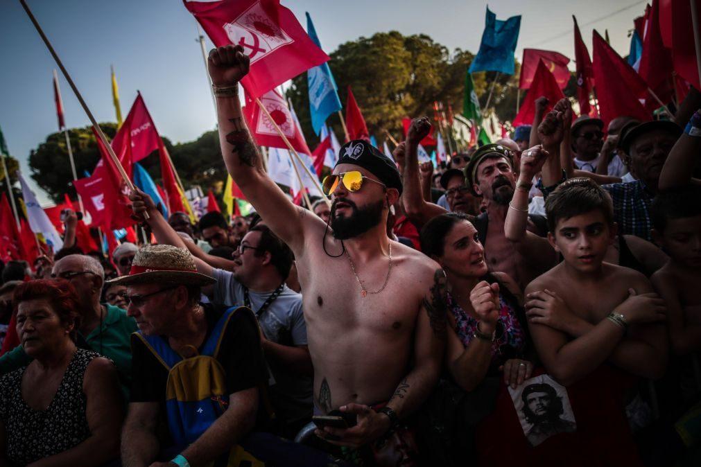 Covid-19: Partidos mudaram planos das 'rentrées', Avante! mantém-se mas com regras