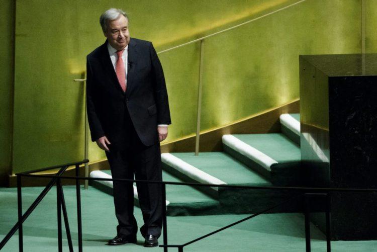 ONU: António Guterres apela para que se faça da paz uma prioridade