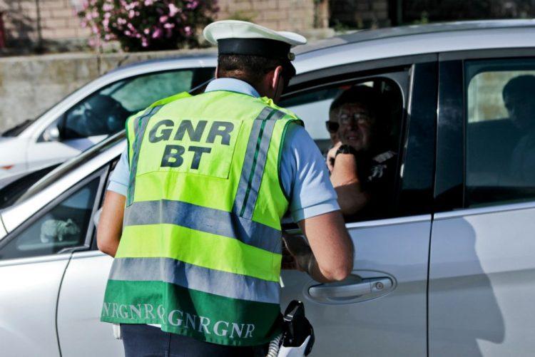 GNR fez 23 detenções, maior parte por condução sob efeito de álcool