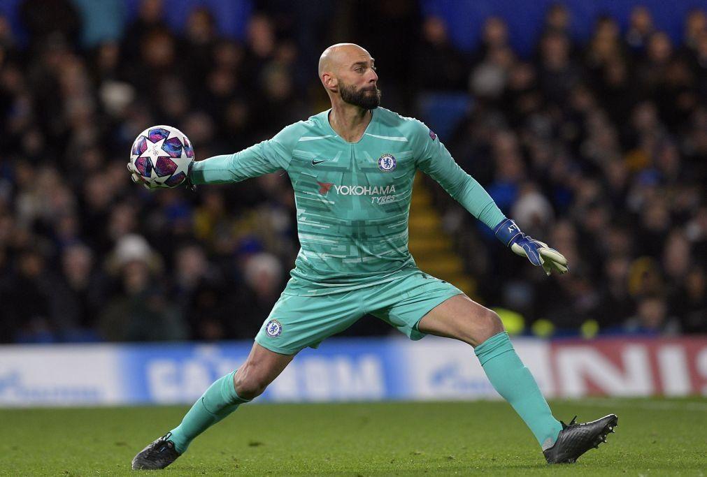 Caballero fica no Chelsea até ao final da  época 2020/2021
