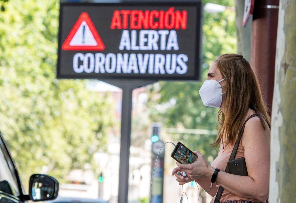 Covid-19: Número diário de mortes em Espanha desce para 48