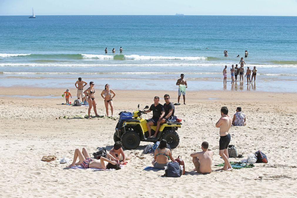 Acesso à praia é livre, vermelho não é proibição de entrar