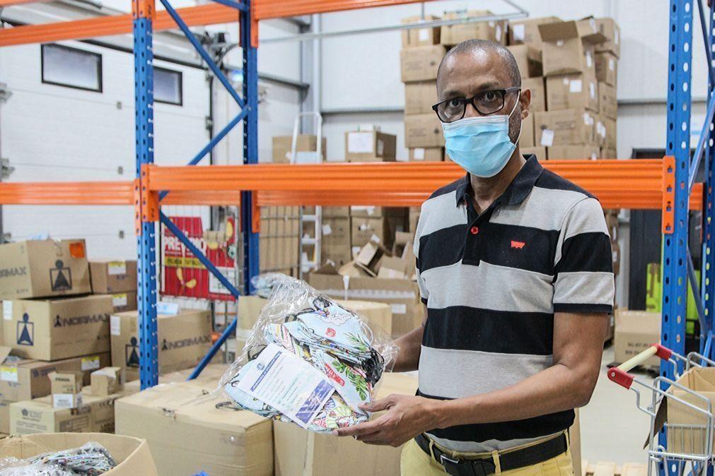Covid-19: Emprofac já colocou no mercado 64.000 máscaras 'made in' Cabo Verde