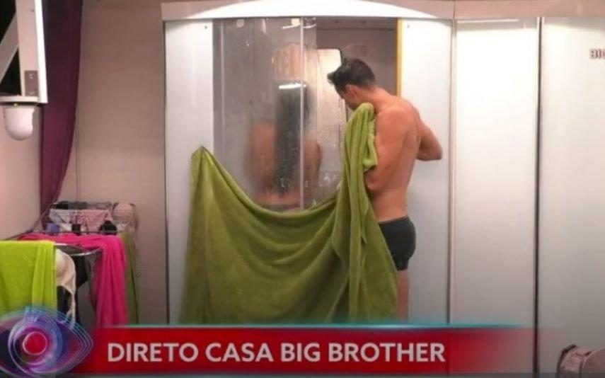 Big Brother. O banho de Jéssica e Pedro Alves que está a dar que falar