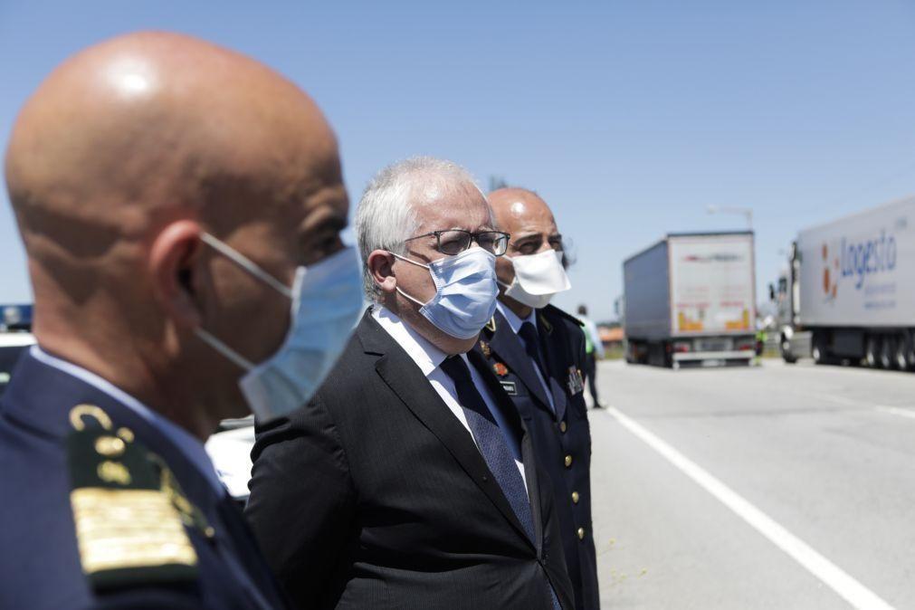 Governo admite reabrir fronteiras de Montalegre e Barrancos durante horas