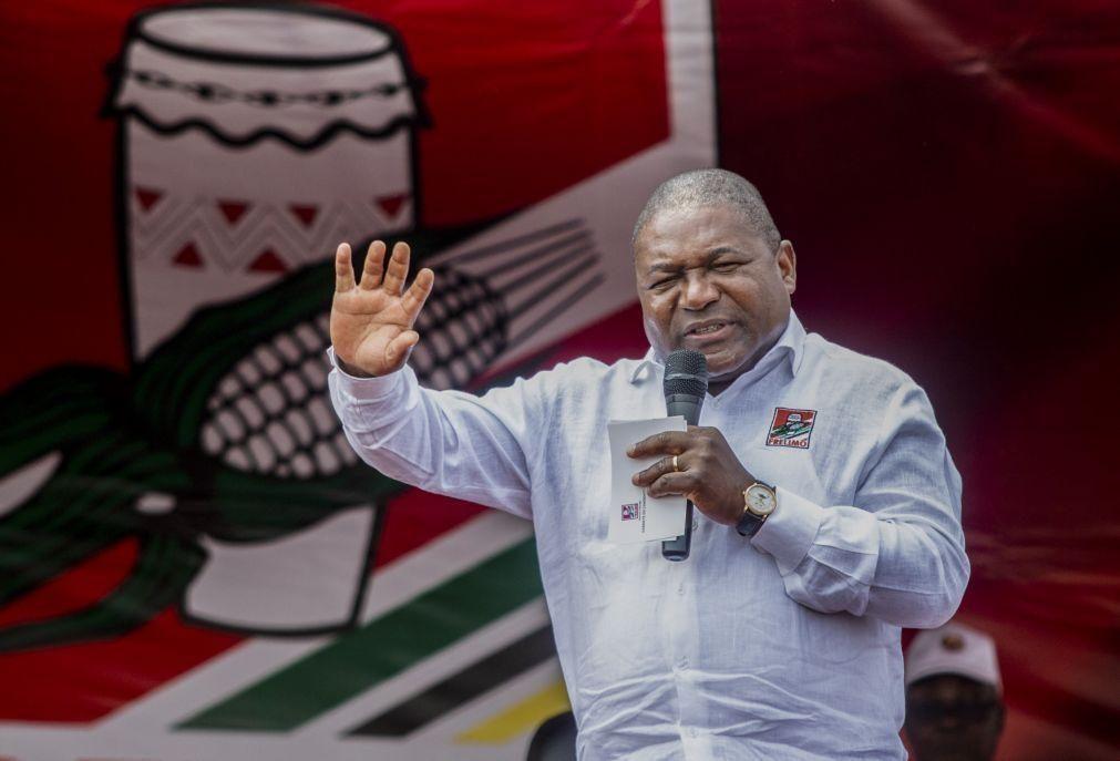 Presidente moçambicano enaltece