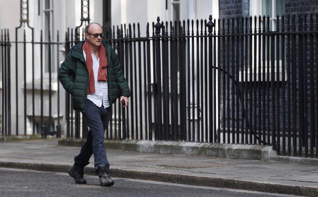 Covid19: Assessor de Boris Johnson que violou confinamento pressionado a demitir-se