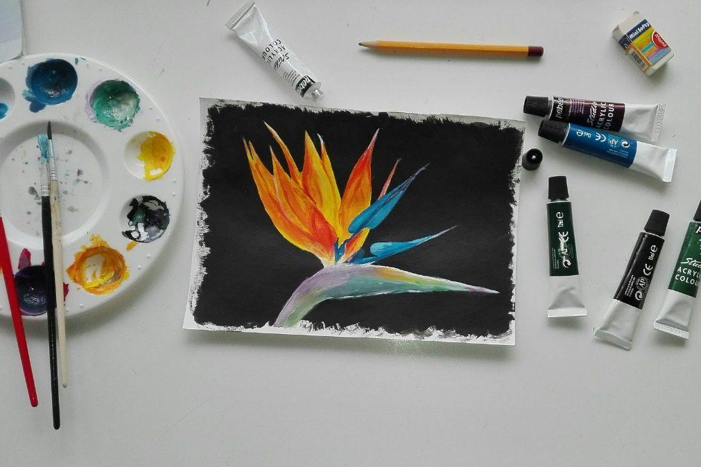 Torne-se na artista da família depois deste workshop de pintura