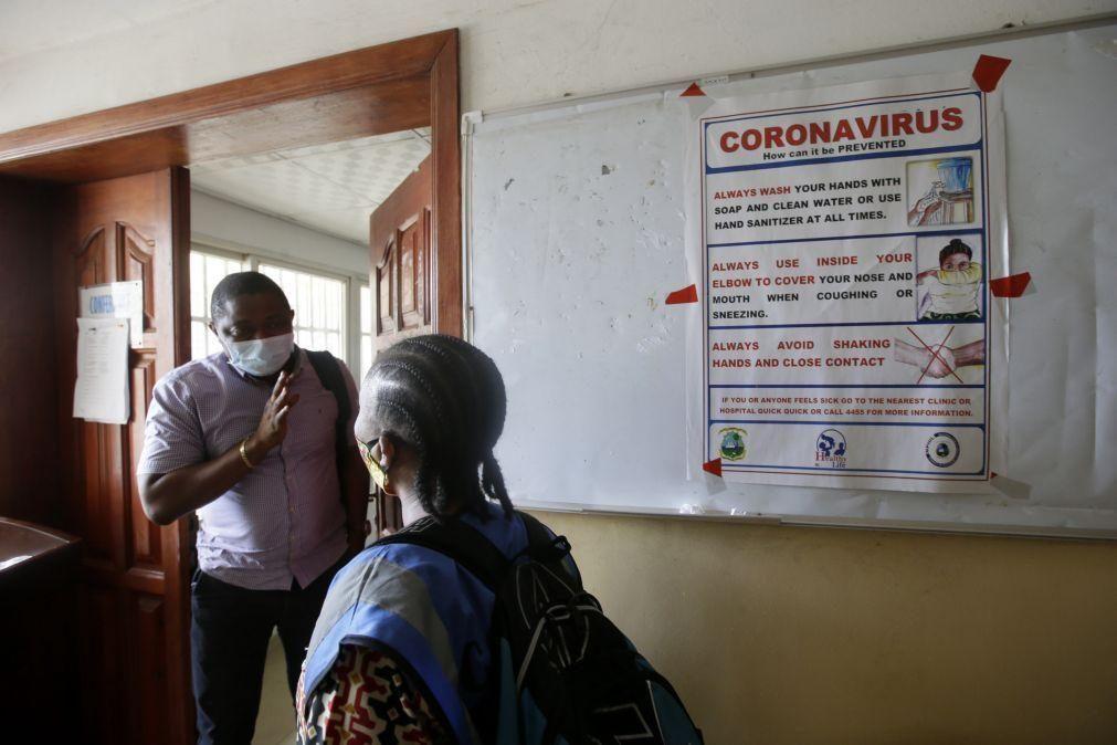 Covid-19: Número de mortos em África sobe para 3.348 em mais de 111 mil casos