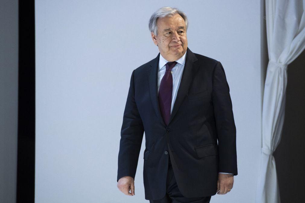 António Guterres renova apelo para cessar-fogo global em África