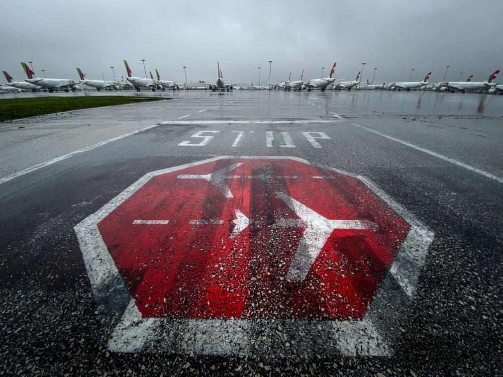 Covid-19: Portugal com 3.ª maior taxa de emprego nos transportes aéreos