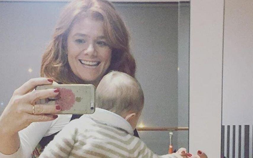 Ana Brito E Cunha Filho da atriz já tem 3 anos e está enorme!