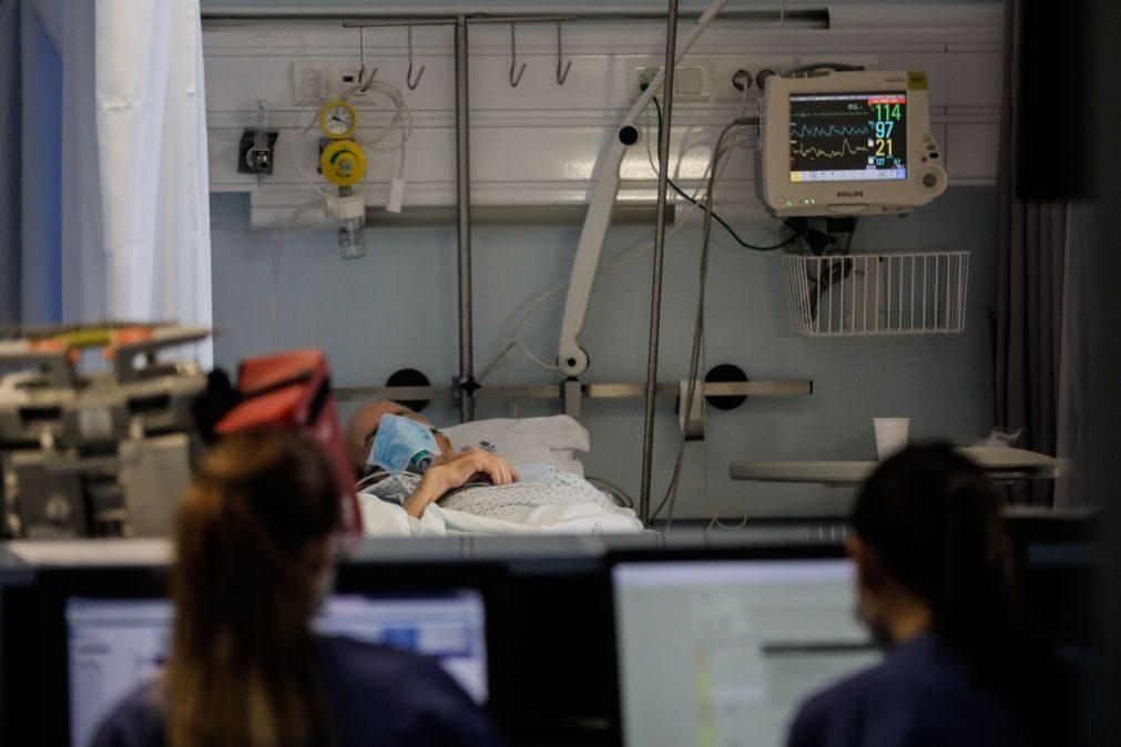 Doentes nos cuidados intensivos teriam triplicado sem confinamento no início de abril