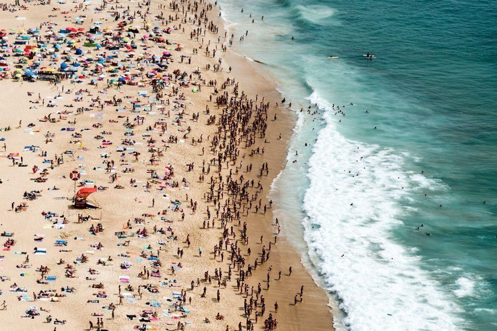Já é conhecida a lotação para todas as praias do país