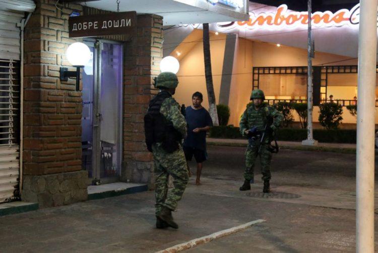 Cinco mortos, incluindo três decapitados, em Acapulco durante o fim de semana
