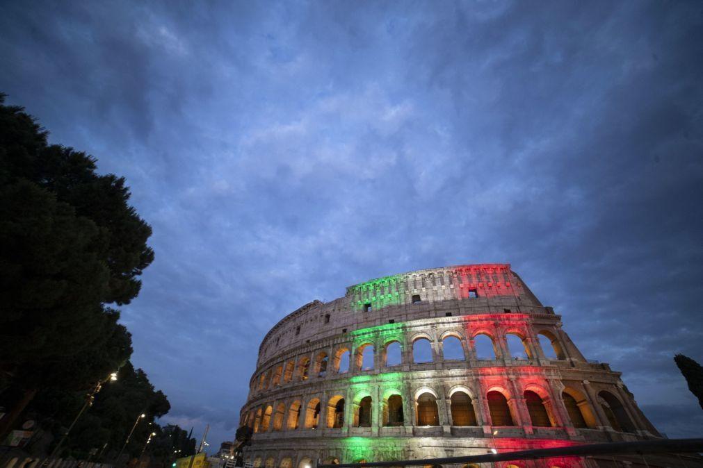 Covid-19: Itália com 60 óbitos e 178 novos casos de infeção nas últimas 24 horas