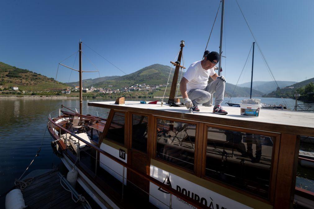 Covid-19: Empresas marítimo-turísticas do Douro reclamam retoma urgente da atividade