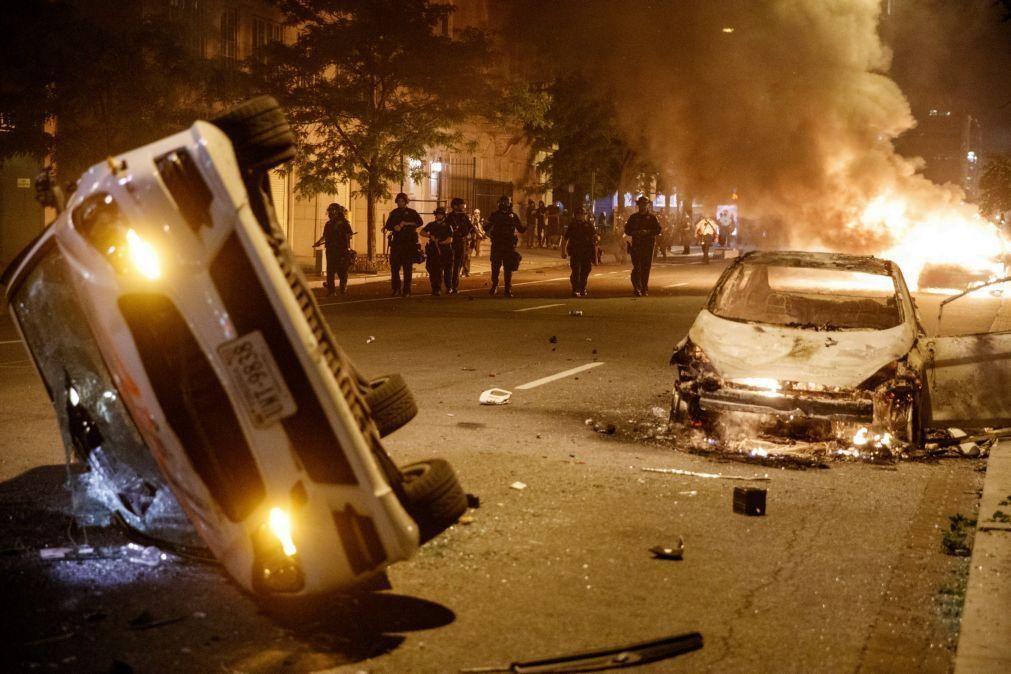 Recolher obrigatório em Washington ampliado após mais uma noite de protestos