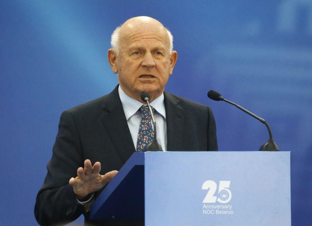 Morreu  Janez Kocijancic, presidente dos Comités Olímpicos Europeus