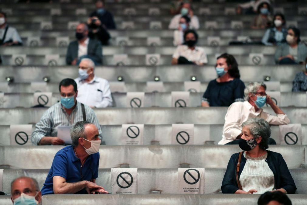 Covid-19: Ânsia de voltar a assistir a um concerto levou mais de 170 pessoas à reabertura da Casa da Música
