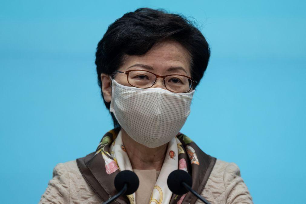 Governo de Hong Kong acusa EUA de