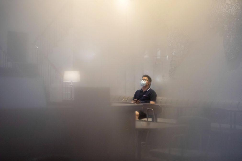 Covid-19: China deteta cinco casos nas últimas 24 horas