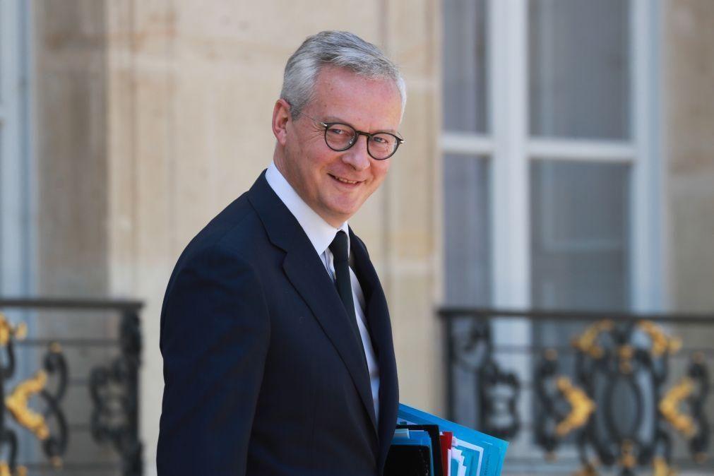Governo francês antecipa recessão de 11% este ano