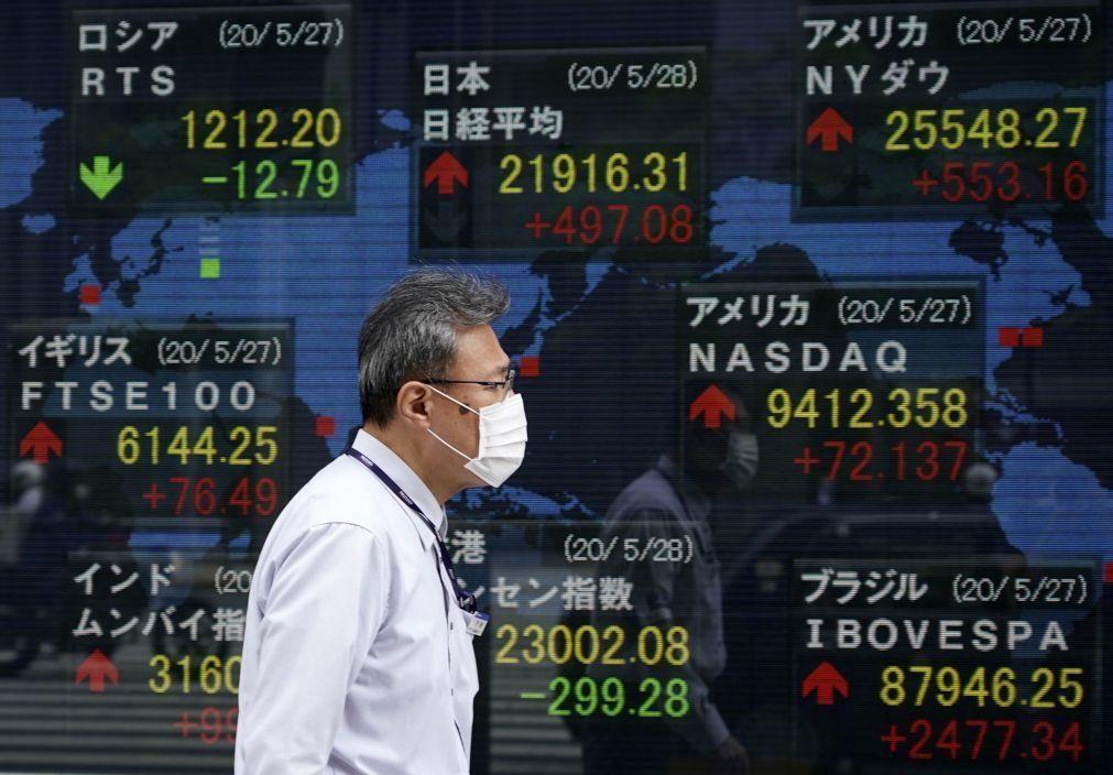 Bolsa de Tóquio fecha a ganhar 1,19%