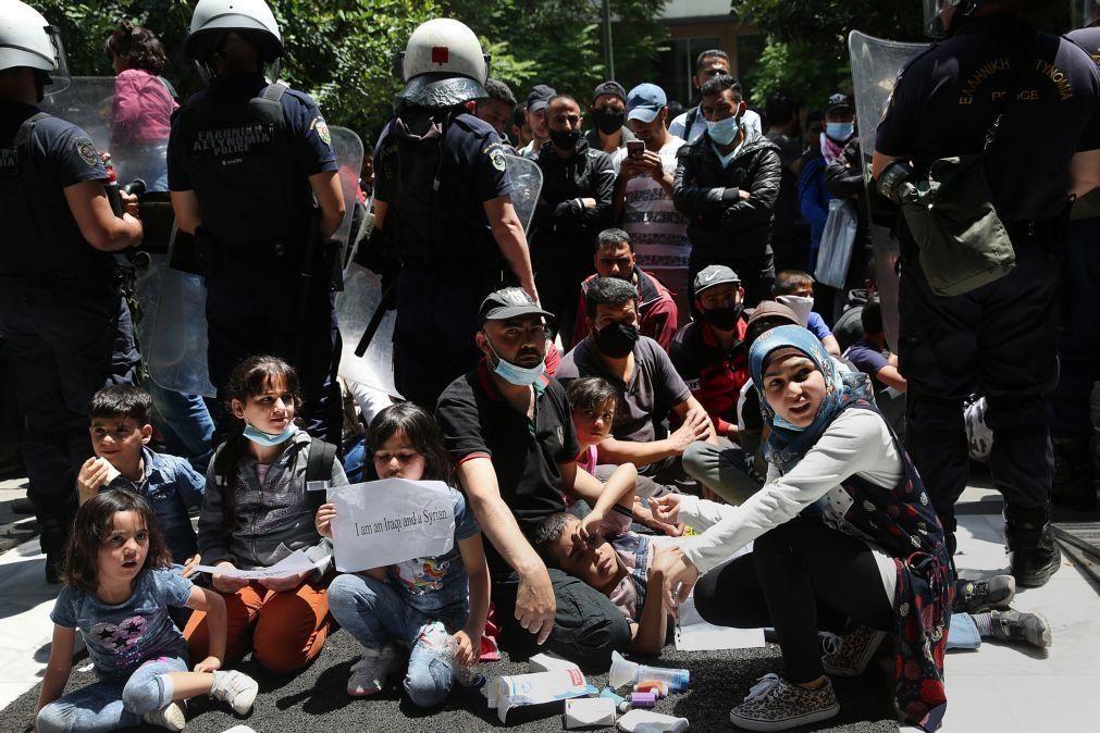 ONU critica plano grego para desalojar milhares de refugiados