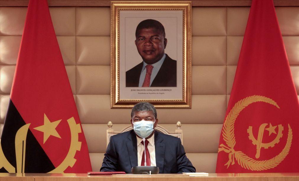Covid-19: Presidente angolano diz que o país está a controlar a pandemia