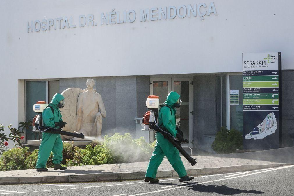 Covid-19:Madeira retira um caso positivo da lista e mantém total de 90 infetados