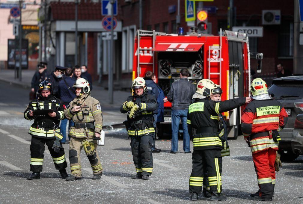 Incêndio em hospital provoca um morto na Rússia.