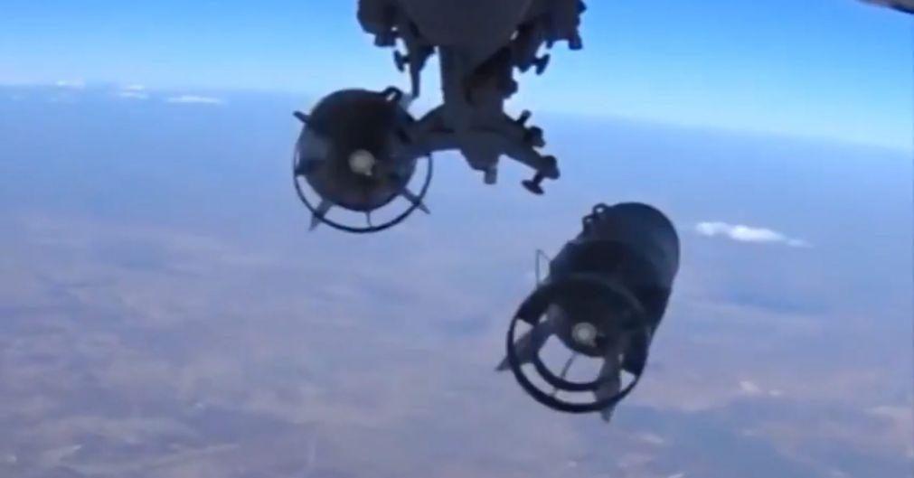 Ataques aéreos russos no noroeste da Síria, os primeiros em três meses - ONG