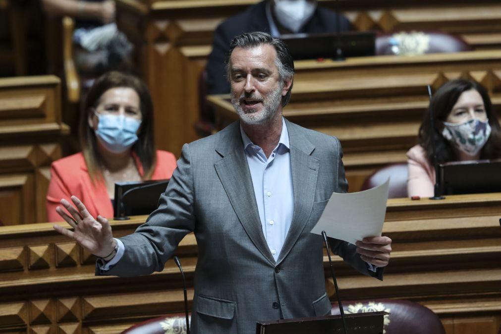 Covid-19: Iniciativa Liberal requer audição urgente de António Costa Silva