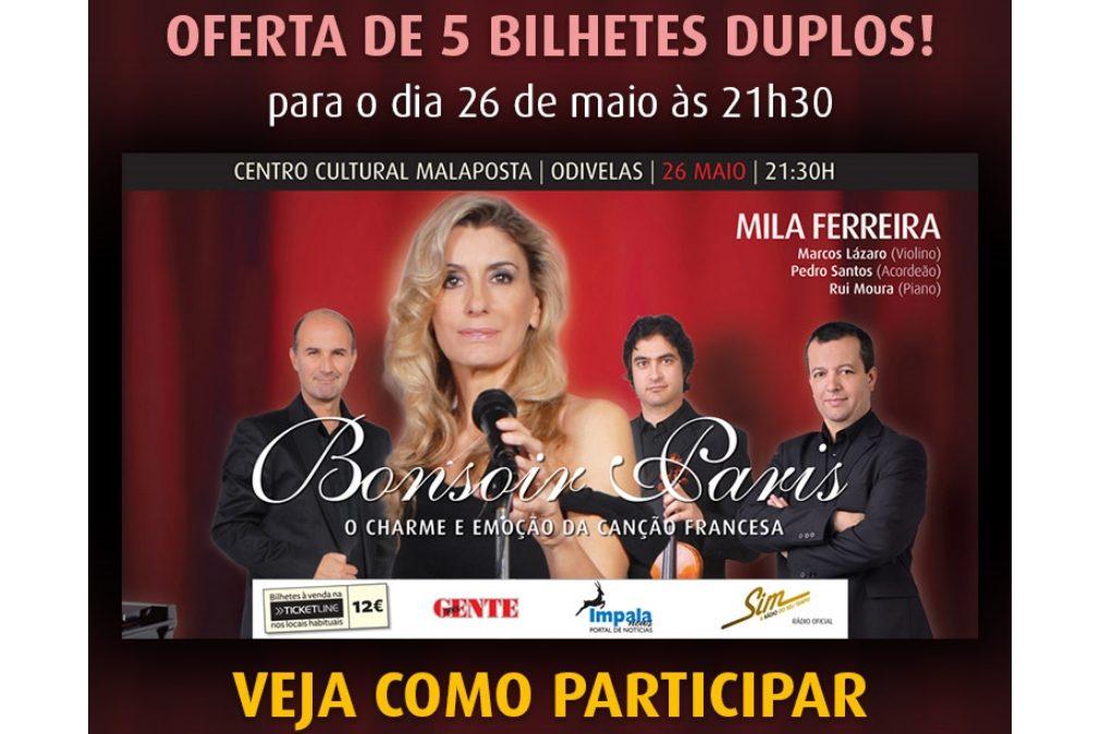 """PASSATEMPO - Concerto Mila Ferreira """"Bonsoir Paris"""""""
