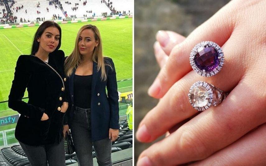 Georgina Rodriguez oferece anel milionário à irmã