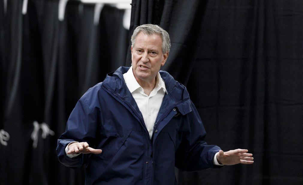 EUA/Floyd: Mais de 90 mil assinaram petição para destituir 'mayor' de Nova Iorque
