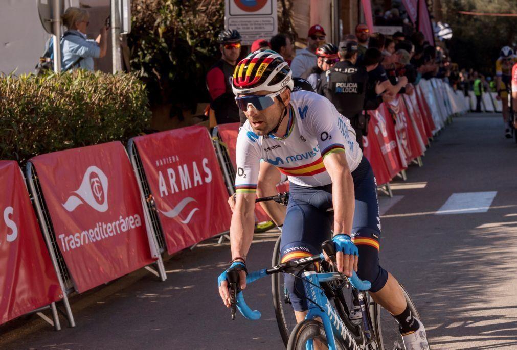 Alejandro Valverde e Enric Mas vão liderar Movistar na Volta a França
