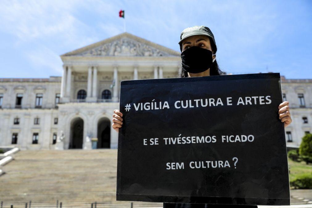 Profissionais da Cultura manifestam-se hoje em Lisboa, Porto e Faro por medidas urgentes