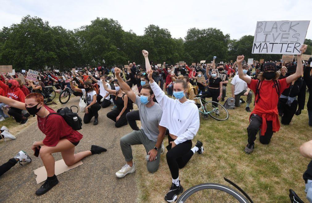 EUA/Floyd: 13 detidos em protestos em Londres