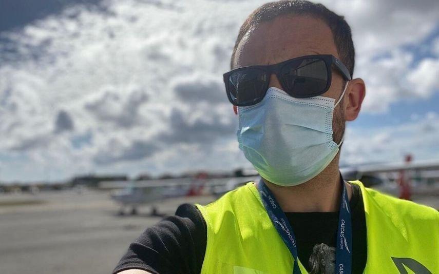 João Paulo Rodrigues Vive um dos momentos mais desejados e voa (literalmente)