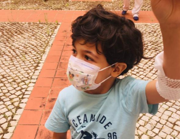 Arthur tem síndrome mielodisplásico e precisa de um dador 100% compatível