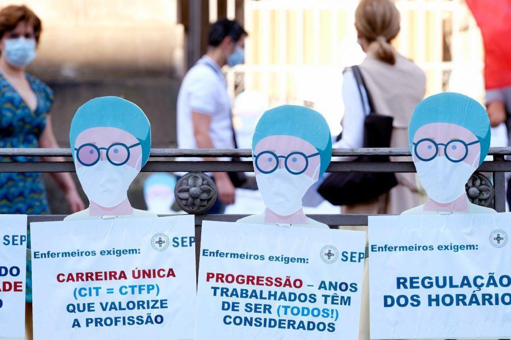 Enfermeiros pedem fim de discriminação na carreira