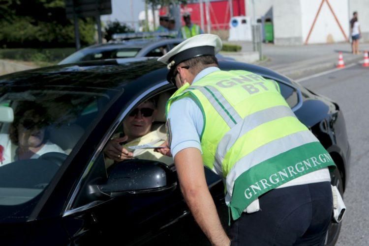 GNR deteve 205 pessoas em flagrante delito no fim de semana