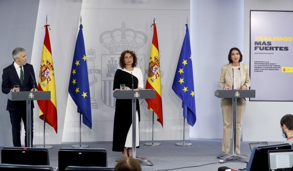Espanha reabre as fronteiras com Portugal e França a 22 de junho