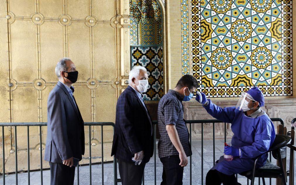 Covid-19: Novo recorde de contágios diários no Irão e mais 59 mortos