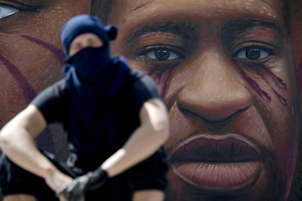 EUA/Floyd: Minneapolis recebeu primeira de uma série de cerimónias de homenagem