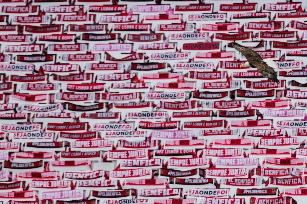 Autocarro do Benfica apedrejado no regresso ao Seixal