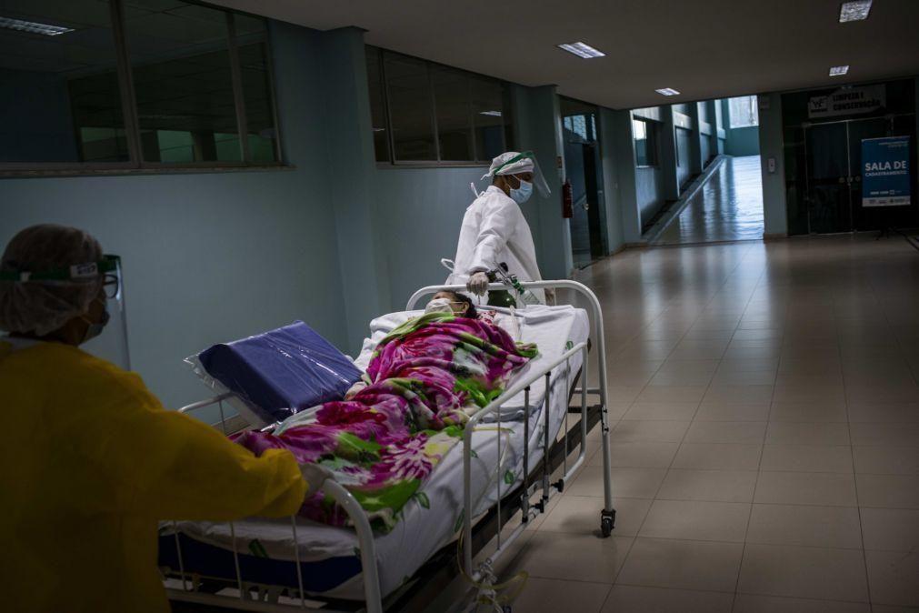 Covid-19: Brasil ultrapassa Itália e torna-se no terceiro país com mais mortes