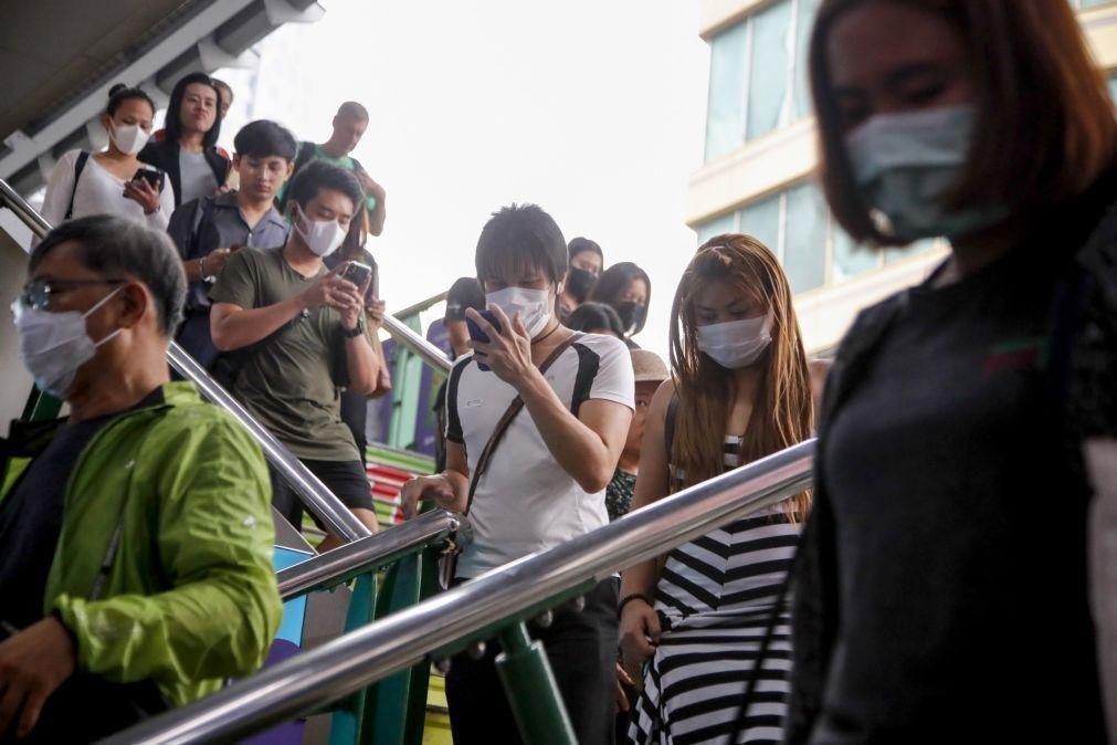 Duas detidas em Macau por suspeita de reunião ilegal no dia de Tiananmen - PSP